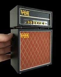 Beatles Collectible Vox Amp Head And Cab Replica 14 Scale Model