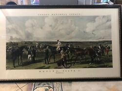 Large Fores's National Sports Racing Plate 1 Engraved By J Harris And W Summers