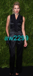 Nwt Most Wanted Ruffle Stretch Jumpsuit 42 Cc Logo Rare Black