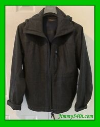 Loro Piana Menand039s Jacket Storm System Cashmere Hoodie Authentic - Jimmy540i.com