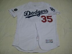 Cody Bellinger Los Angeles Dodgers White Team Issued Jersey Mlb Authentication