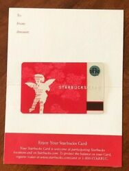 Starbucks Card 2002 Cupid Limited Edition With Sleeve - New Rare Excellent
