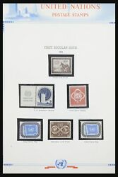 Lot 31747 Collection Stamps Of United Nations 1951-2008.