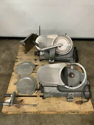 Lot Of 2 Hobart Meat Cheese Slicer For Parts - Model 2612 / 2712