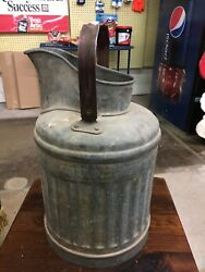Antique Gas And Oil Measure Can