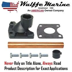 Water Pocket Cover And Tube Kit Mercruiser 1 R Mr Alpha 18-3219 42724a3