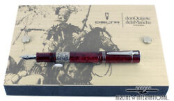 Delta 1k Don Quijote Le Fountain Pen -factory Sealed Low7/1605