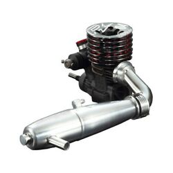 O.s. Speed R2104 1/8 Scale Engine With T-2080sc Ii Silencer Set - Osm1c601