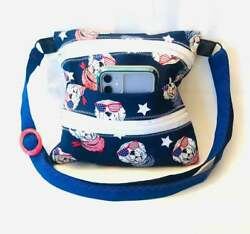 Cross body purse Patriotic Puppy $22.99