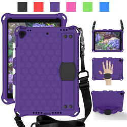 For iPad 10.2quot; 7th 6th 5th 9.7quot; Gen Kids Strap Handle EVA Foam Shockproof Case $19.46