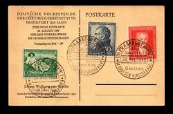 Germany 1949 Goethes Series On Event Maxim Card - L11561