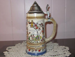 Vintage Collectible Mobel Gmbh Beer Stein Made From Germany