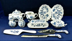 36 - Serving Pieces Or Less Of Blue Danube Japan Fine China