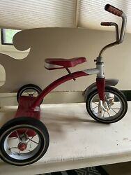 Vintage Roadmaster Red Tricycle 1960's... Collectors Working Condition