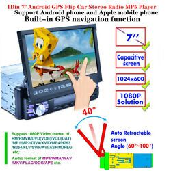 Single 1din 7 Android Gps Car Stereo Radio Mp5 Player Touch Screen Usb Devices