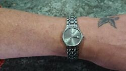 Rare Longines Presence L4.220.4 Womens Stainless Steel Watch Rrp New £795