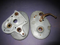 Ajs Matchless Ariel Burman Gearbox Transmission Outer Cover