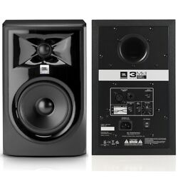 Jbl 306p Mkii 6.5 Biamped 224w Total Active Nearfield Studio Reference Monitors