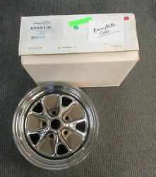 1965-66 Mustang New 14x6 Chrome Styled Steel Wheel - 2nd