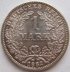 Top 1 Mark 1882 G In Brillant Uncirculated Very Rarely