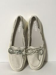 Womens Sperry Top Sider Oasis Canal Pale Blush Boat Shoes Sts82433 Size 6.5