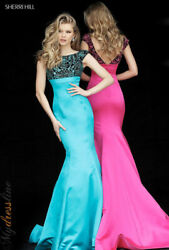 Sherri Hill 51373 Long Evening Dress Lowest Price Guarantee New Authentic Gown