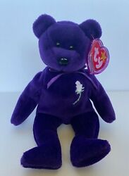 Ty Princess Diana Beanie Baby Rare 1997 In Excellent Condition