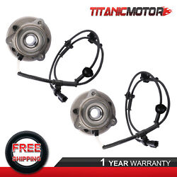2x Front Wheel Hub Bearing Assy For 95-01 Ford Explorer 97-01 Mecury Mountaineer