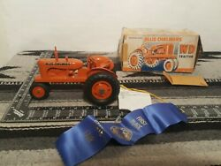 Allis Chalmers Wd 1/16 Plastic Farm Tractor Replica By Product Miniatures