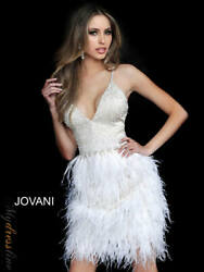 Jovani 1729 Short Cocktail Dress Lowest Price Guarantee New Authentic