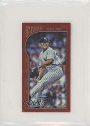 2015 Topps Gypsy Queen Minis Red /50 Mariano Rivera 336 Hof