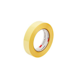 3m Polyester Film Electrical Tape 1318-2 Yellow 1 In X 72 Yd 3 In Paper Core