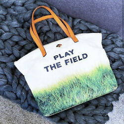 Kate Spade Rare Play The Field Canvas Tote $95.00