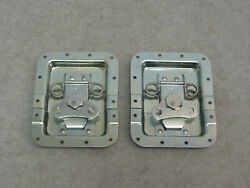 Two Large 6.25quot;X5quot; Butterfly Latches Split Dish Flight Road Case Hardware