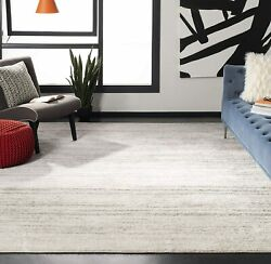 Safavieh Adirondack Collection Adr113b Modern Ombre Area Rug 8and039 X 10and039 Ivory/si