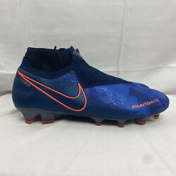Nike Phantom Vision Elite FG Soccer Cleats Fully Charged AO3262-441 Size 8.5 $101.97