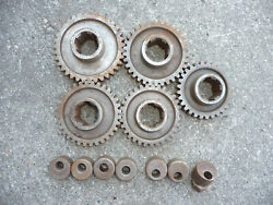 Vintage Lot Of Midget Quick Change Rear End In And Out Gears
