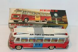 Seldom Seen Friction Operated Tin Mf-910 Shanghai Airport Limousine Bus With Box