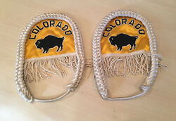 Rare Vintage 60s 70s University Of Colorado Buffs Marching Band Cords Boulder