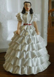Gone With The Wind Ruffle Prayer Gown Visions Of Scarlett Bradford Exchange