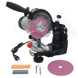 Porfessional Electric Mid-sized Bench Grinder 120v Chainsaw Chain Sharpener