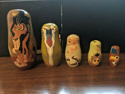Nesting Dolls Collectable Lion King