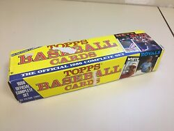 1986 Topps Baseball Official Complete Factory Set 792 Picture Cards Open Box