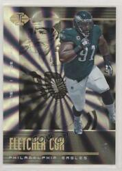 2019 Panini Illusions Trophy Collection Division /7 Fletcher Cox Mike Golic 22