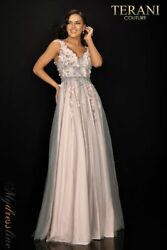 Terani Couture 2011p1207 Evening Dress Lowest Price Guarantee New Authentic