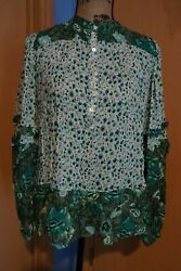 Spell And Gypsy Collective Winona Blouse Size L Extremely Rare