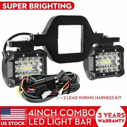 Tow Hitch Mounting Bracket3 row LED Tow Lights Pods Backup Reverse 4#x27;#x27;For Truck