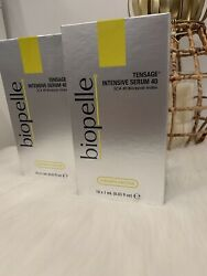 Biopelle Tensage intensive Serum 40 SCA 10 1ml Ampoules Tubes NEW IN BOX