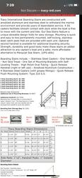 Tracy Yacht/boat Steps 5steps Collapsible With Landing Wheels And Hand Rail.