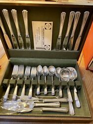 Silverware Setting For 8, 1940 Sterling Silver